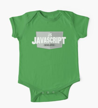 javascript developer One Piece - Short Sleeve