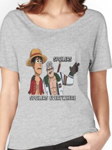 Woody D Luffy learns the Sad Truth Women's Relaxed Fit T-Shirt