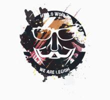hacker - anonymous - hello world Baby Tee