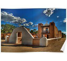 San Geronimo Church Taos Pueblo Poster