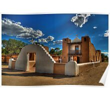 San Geronimo Church Taos Pueblo Poster