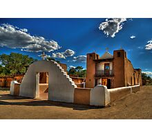 San Geronimo Church Taos Pueblo Photographic Print