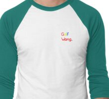 Golf Wang. Simple Men's Baseball ¾ T-Shirt