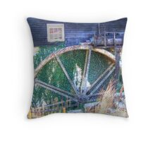 The Old Mill Restaurant  Throw Pillow