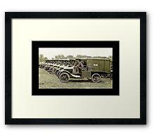 Ambulance Medical Corp WWI Framed Print