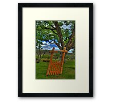 The Crooked Gate Framed Print
