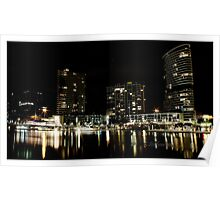 Yarra in colour Poster