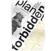 Forbidden Planet Poster conceptual  Poster