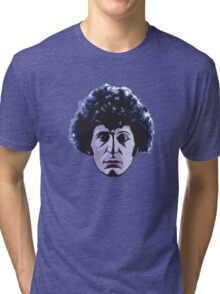 The Face Of Who Tri-blend T-Shirt