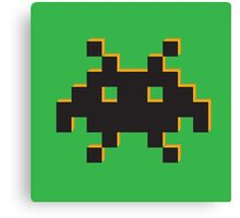 The Lone Space Invader Canvas Print