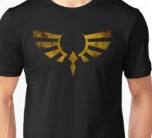 Hylian Crest Grunge Unisex T-Shirt