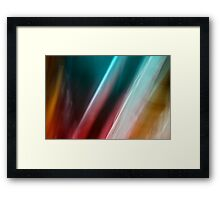 Indian Silks Framed Print