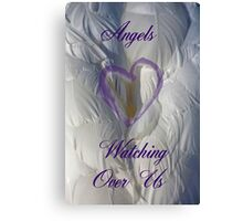 Angels watching over us Canvas Print