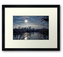 Crisp Winters Day Framed Print
