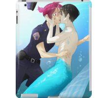 Free! - HaruRin - Underwater Kiss iPad Case/Skin