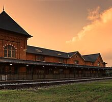 Bristol Train Station Panorama by Greg Booher