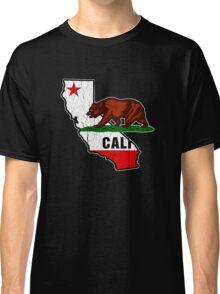California Bear Flag (Distressed Vintage Design) Classic T-Shirt