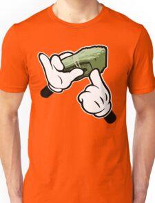 Make It Rain Cartoon Hands (Ghetto Fat Stack) Unisex T-Shirt