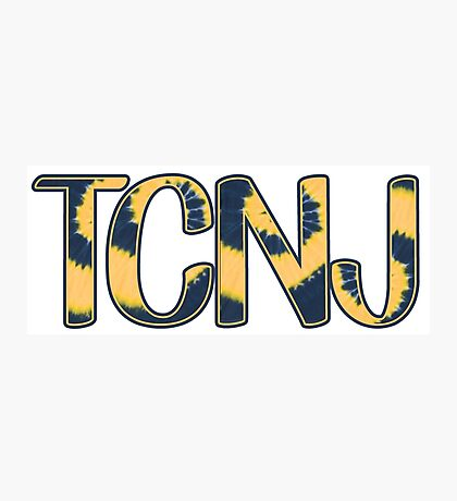 TCNJ Tie Dye Photographic Print