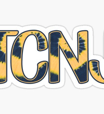 TCNJ Tie Dye Sticker