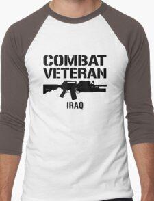 Combat Veteran - Iraq  Men's Baseball ¾ T-Shirt