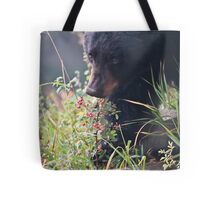 Young Black in fall coat #1 Tote Bag