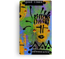 Embracing the Spirit of Adventure Deep Inside Canvas Print