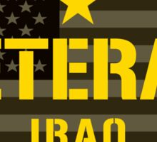 VETERAN - Iraq - I Served Sticker  Sticker