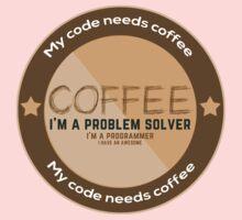 Programmer - My code needs coffee Baby Tee