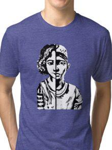 walking dead Clementine Tri-blend T-Shirt