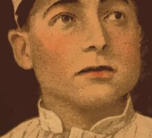 Benjamin K Edwards Collection Jimmy Block Chicago White Sox baseball card portrait Sticker
