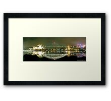 Sydney Harbour Bridge reflection Framed Print