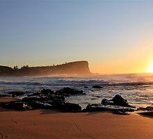 Sunrise Avalon BEACH Sydney Australia by Andrew  MCKENZIE