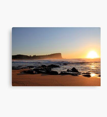 Sunrise Avalon BEACH Sydney Australia Canvas Print