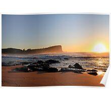 Sunrise Avalon BEACH Sydney Australia Poster