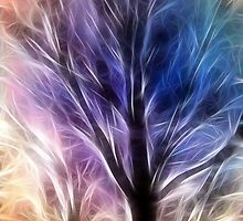 Fractal Rays of a Happy Tree by StudioDestruct