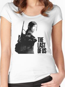 Ellie in the last of us Women's Fitted Scoop T-Shirt