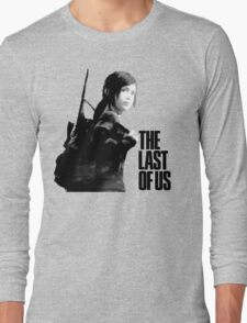 Ellie in the last of us Long Sleeve T-Shirt