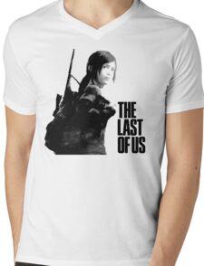 Ellie in the last of us Mens V-Neck T-Shirt