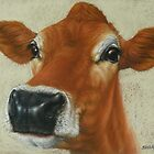 Pastel Cow by Margaret Stockdale
