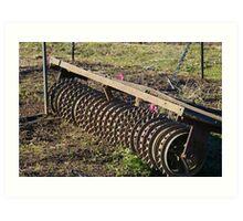 Farm Implement Art Print