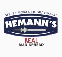 He-Manns Real Man Spread by gorillamask