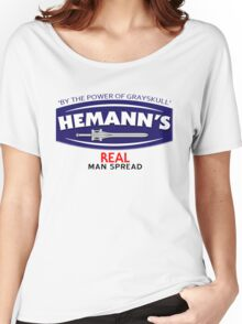 He-Manns Real Man Spread Women's Relaxed Fit T-Shirt