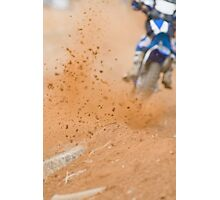 Motocross Roost Photographic Print