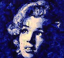 Marilyn_Blue by HaviSchanz