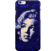 Marilyn_Blue iPhone Case/Skin