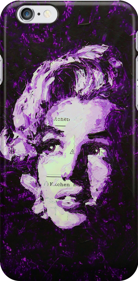 Marilyn_Violet by HAVI Art