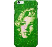 Marilyn_Green iPhone Case/Skin