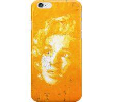 Marilyn_Yellow iPhone Case/Skin