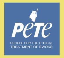 Star Wars PETA Parody (with text) Kids Tee